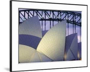 Looking over the Opera House to the Sydney Harbor Bridge, Close Up by Design Pics Inc