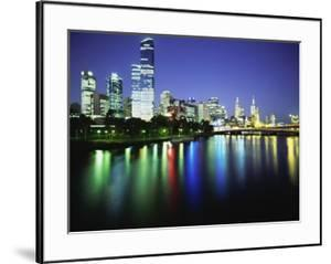 Melbourne Skyline at Night by Design Pics Inc