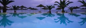Panoramic View of Infinity Pool by Design Pics Inc