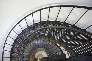 Spiral Stairway in Yaquina Head Lighthouse; Oregon United States of America by Design Pics Inc