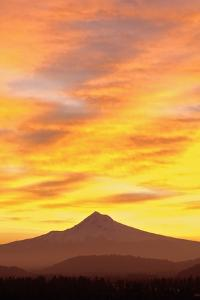 Sunrise over Mount Hood, Portland, Oregon, USA by Design Pics Inc
