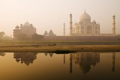 Taj Mahal in Early Morning; Agra, India by Design Pics Inc