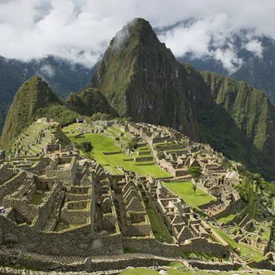 The Historic Inca Site Machu Picchu; Peru by Design Pics Inc