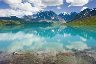 Turquoise Lake in Lake Clark National Park Southcentral Alaska Summer by Design Pics Inc