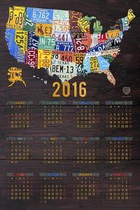 2016 Calendar by Design Turnpike
