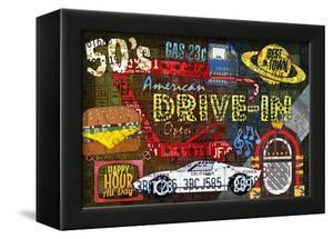 American Drivers License Plate Art Collage by Design Turnpike