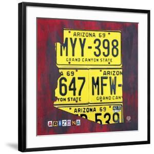 Arizona License Plate by Design Turnpike