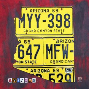 Arizona License Plate by Design Turnpike