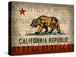 Cali State Flag License Plates by Design Turnpike