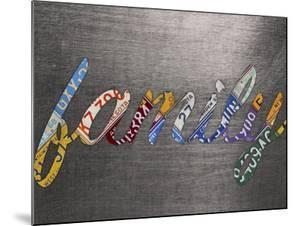 Family Sign Metal by Design Turnpike