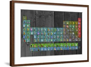 License Plate - Periodic Table by Design Turnpike
