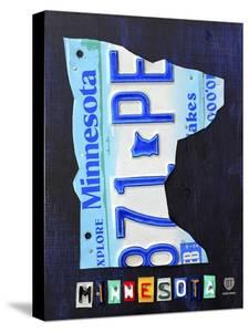 Minnesota License Plate Map by Design Turnpike