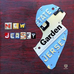 New Jersey License Plate Map by Design Turnpike