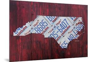 North Carolina License Plate Map by Design Turnpike
