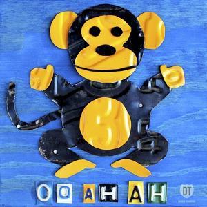 Oo Ah Ah the Monkey by Design Turnpike