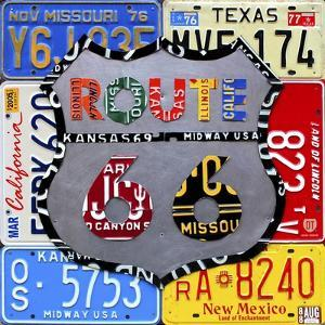 Route 66 Road Sign by Design Turnpike