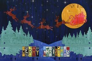 Santa Sleigh - Merry Christmas by Design Turnpike