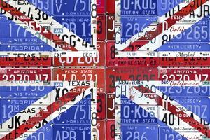 UK Flag License Plate by Design Turnpike