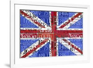UK Flag License Plate by Design Turnpike