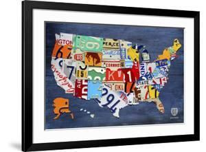USA Map by Design Turnpike