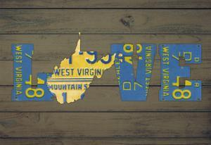 WV State Love by Design Turnpike