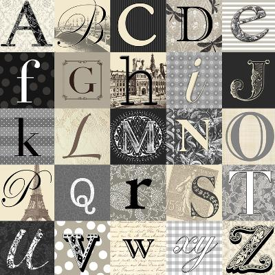 Designing Alphabet-Morgan Yamada-Art Print