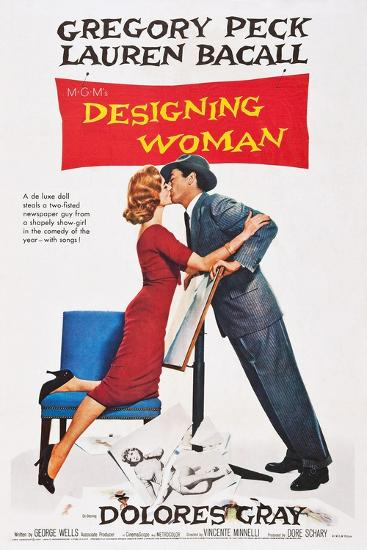Designing Woman--Art Print