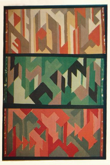 'Designs for Rugs by the Allgauer Handwebeteppiche', c1928-Unknown-Giclee Print