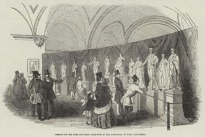 Designs for the Peel Monument, Exhibited in the Town-Hall, at Bury, Lancashire--Giclee Print