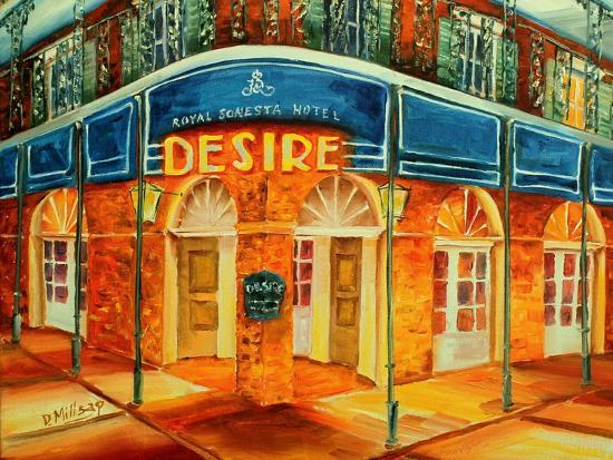 Desire Oyster Bar-Diane Millsap-Art Print