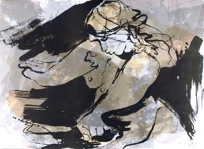 Desnuda con Manos-Gino Hollander-Limited Edition