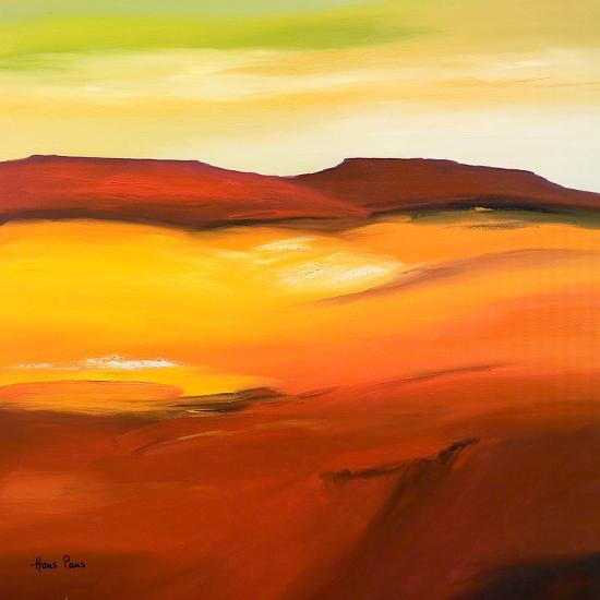 Desolation 1-Hans Paus-Art Print