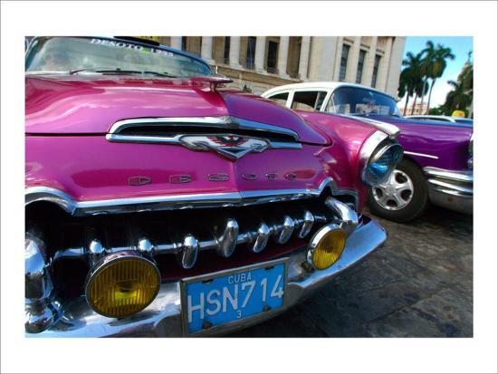 Desoto in Pink-Charles Glover-Giclee Print