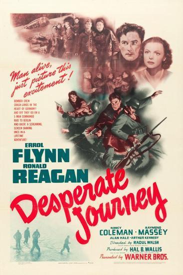 Desperate Journey, 1942--Art Print