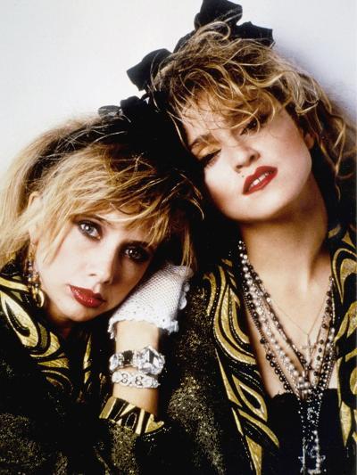 Desperately Seeking Susan, Rosanna Arquette, Madonna, Directed by Susan Seidelman 1985--Photo