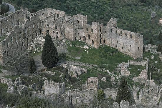 Despot's Palace, Mistra--Giclee Print
