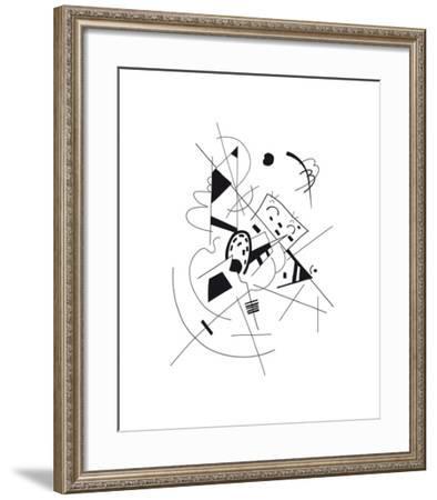Dessin, 1918-Wassily Kandinsky-Framed Premium Giclee Print