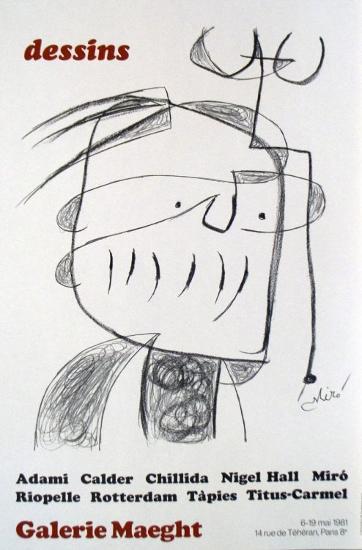 Dessins-Joan Mir?-Art Print
