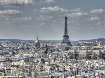 Dessus de Paris-Joe Reynolds-Photographic Print