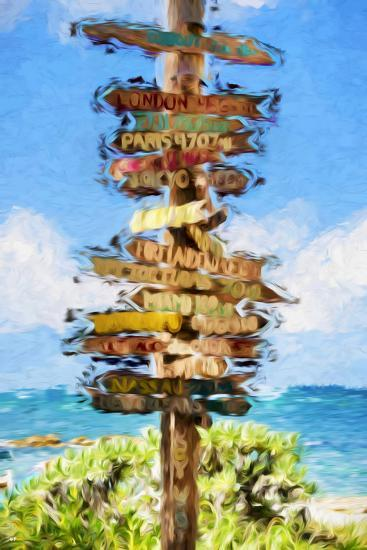 Destinations II - In the Style of Oil Painting-Philippe Hugonnard-Giclee Print