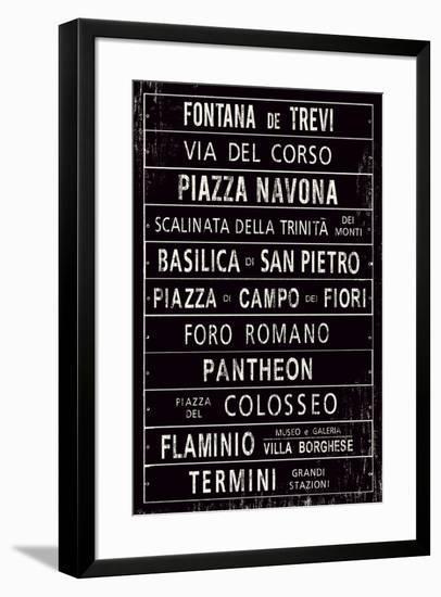 Destinations IV-Maria Mendez-Framed Giclee Print
