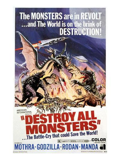 Destroy All Monsters, 1968--Photo