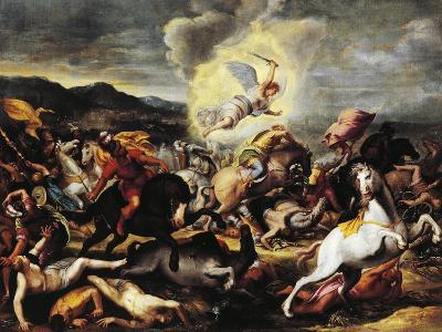 Destruction of the Armies of Sennacherib, Late 16th-Early 17th Century--Giclee Print