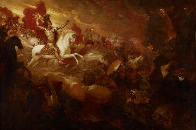 Destruction of the Beast and the False Prophet, 1804-Benjamin West-Giclee Print
