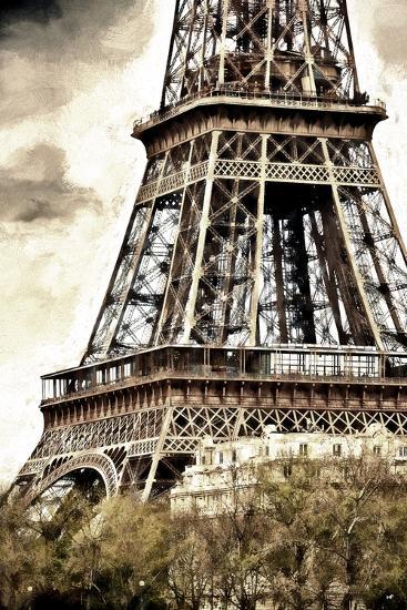 Detail Eiffel Tower-Philippe Hugonnard-Giclee Print