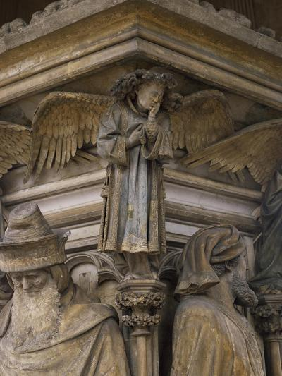 Detail from 15th Century Sculptures-Clement Massier-Giclee Print