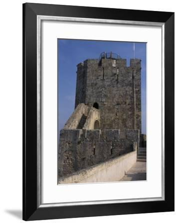 Detail from a Defensive Tower of Palmela Castle. Portugal--Framed Giclee Print