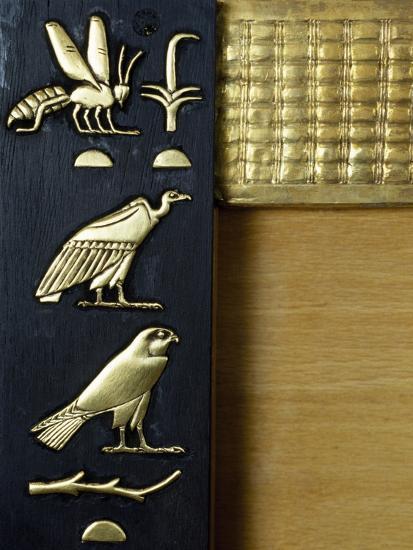 Detail from Decoration on Queen Hetepheres II's Wooden Sedan Chair--Giclee Print