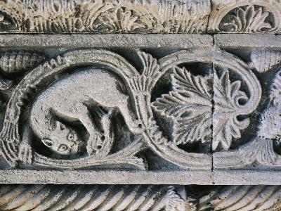 Detail from Decorative Frieze in Church of Santa Maria Della Piazza, Ancona, Italy, 11th Century--Giclee Print