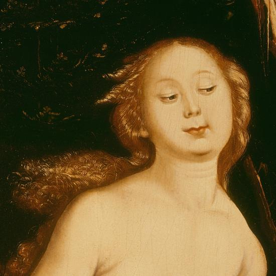 Detail from Eve, the Serpent and Death-Hans Baldung Grien-Giclee Print